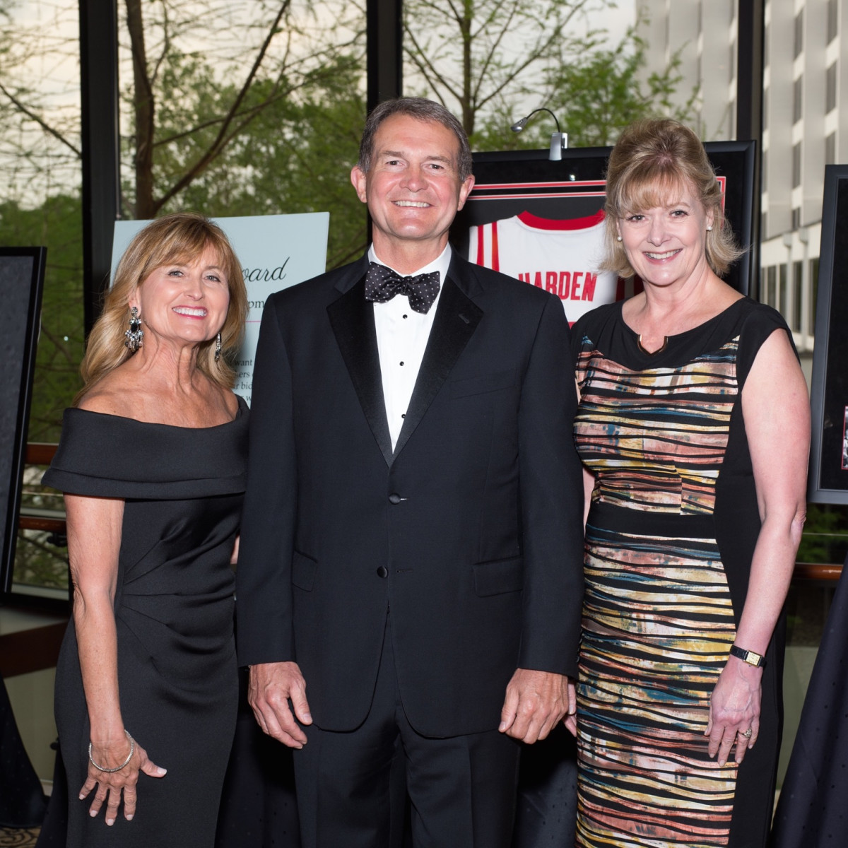 Marlene & Kurt Nondorf, Leslie Bourne at Covenant House Gala 2017