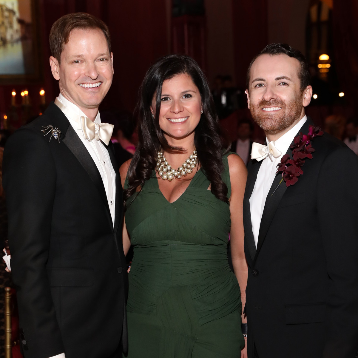 Houston, Houston grand opera ball, April 2017, Brian McCulloch, Lucy Sander, Jeremy Garcia