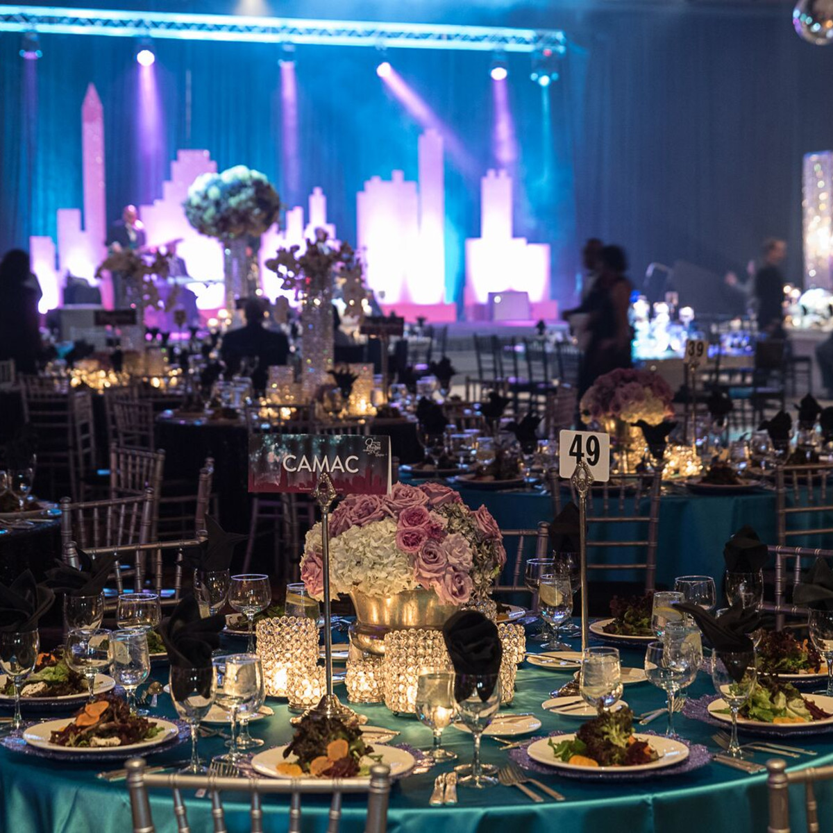 News, Shelby, Ensemble Theatre gala, Aug. 2015, decor