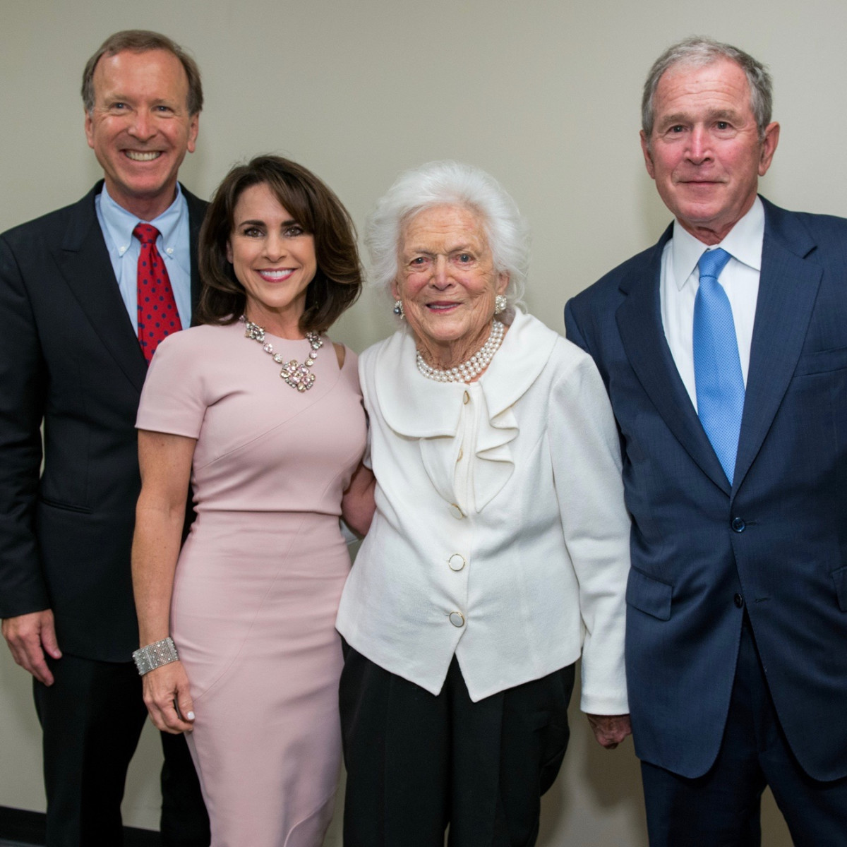 Celebration of Reading 2017: Neil and Maria Bush, Barbara Bush, Former President George W. Bush