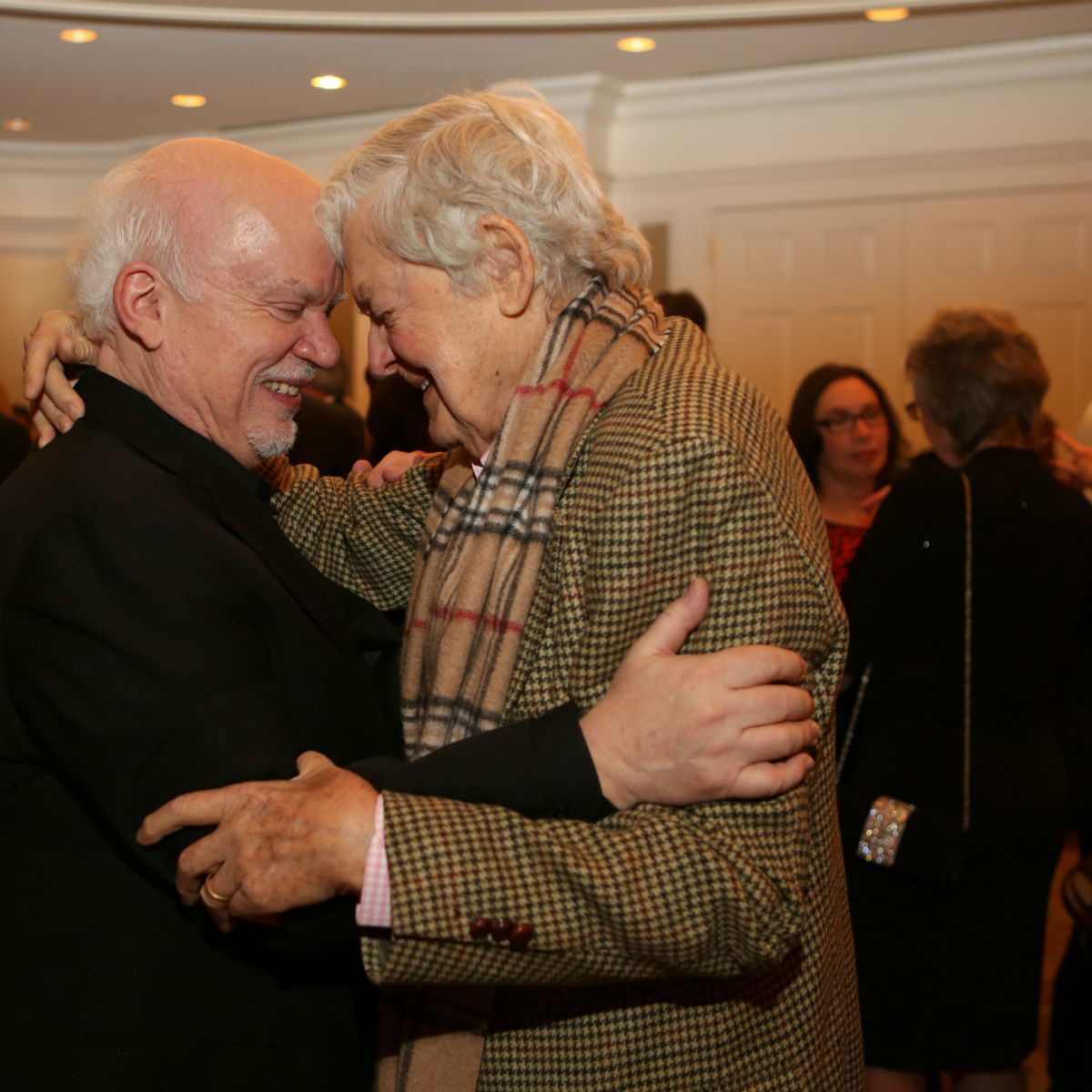 13 Gregory Boyd, left, and Hal Holbrook Alley Theatre Celebrates Gregory Boyd's 25th Anniversary as Artistic Director February 2015