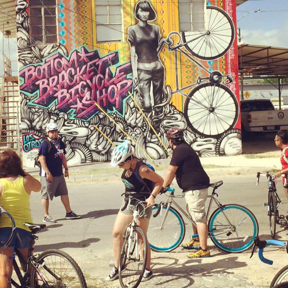 San Antonio Mural Ride 2016