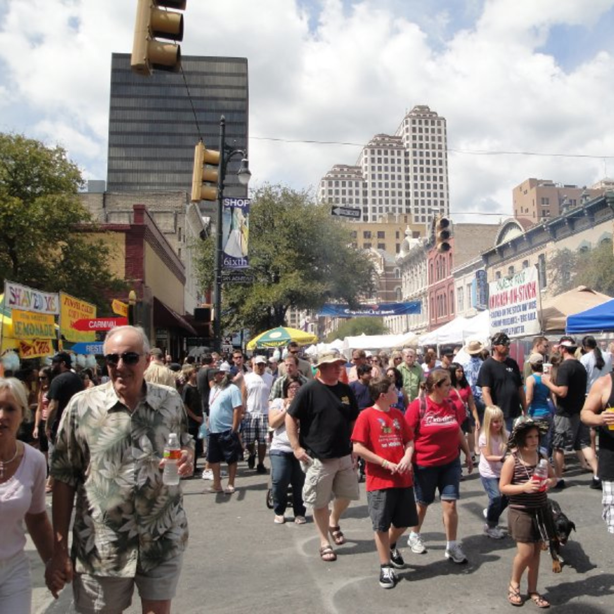 Austin Photo: Events_Pecan Street Festival_Street