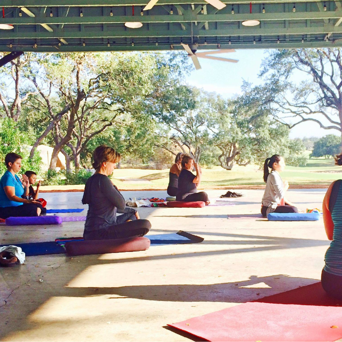 Yoga with a View Hyatt Regency Hill Country Resort and Spa