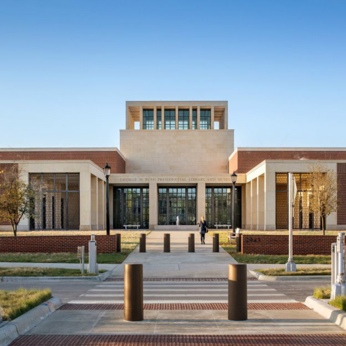 Step Inside The New George W Bush Presidential Center At Smu