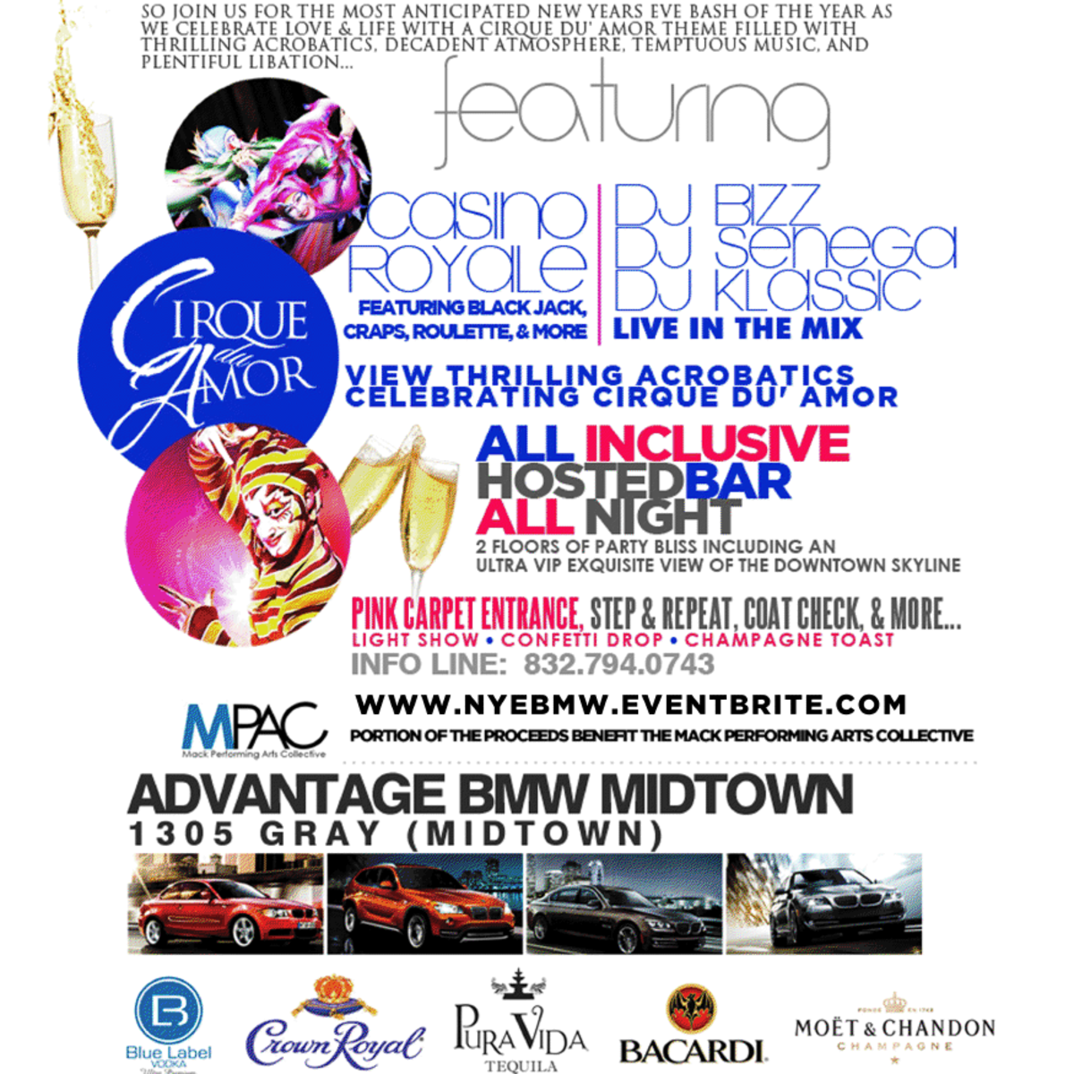 Fifth Annual Art of Celebration New Year's Eve Affair