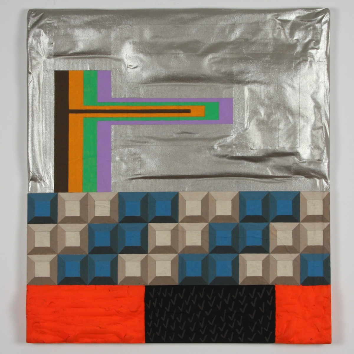 "A work from CentralTrak's upcoming exhibition ""Failing Flat"" by NYC artist Ivin Ballen, curated by Nathan Green"