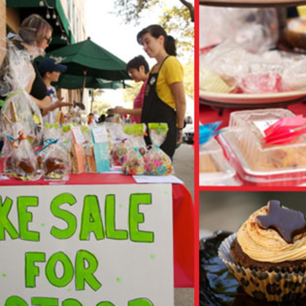 Austin Bakes for West fundraiser bake sale