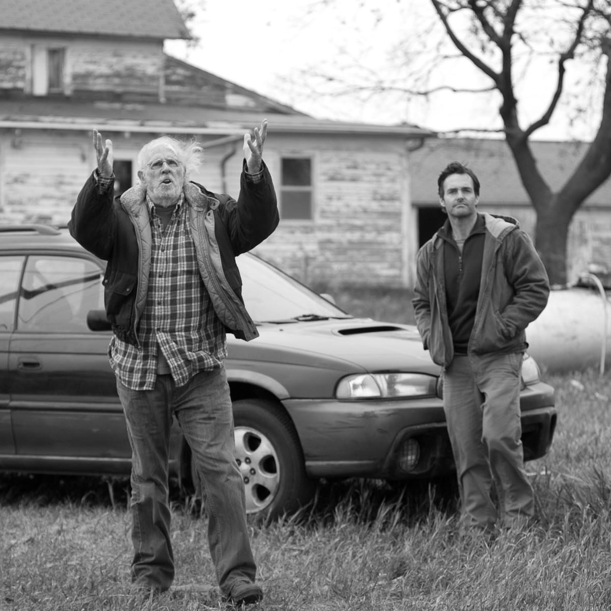 Houston Cinema Arts Festival 2013 Nebraska with Bruce Dern, left and Will Forte