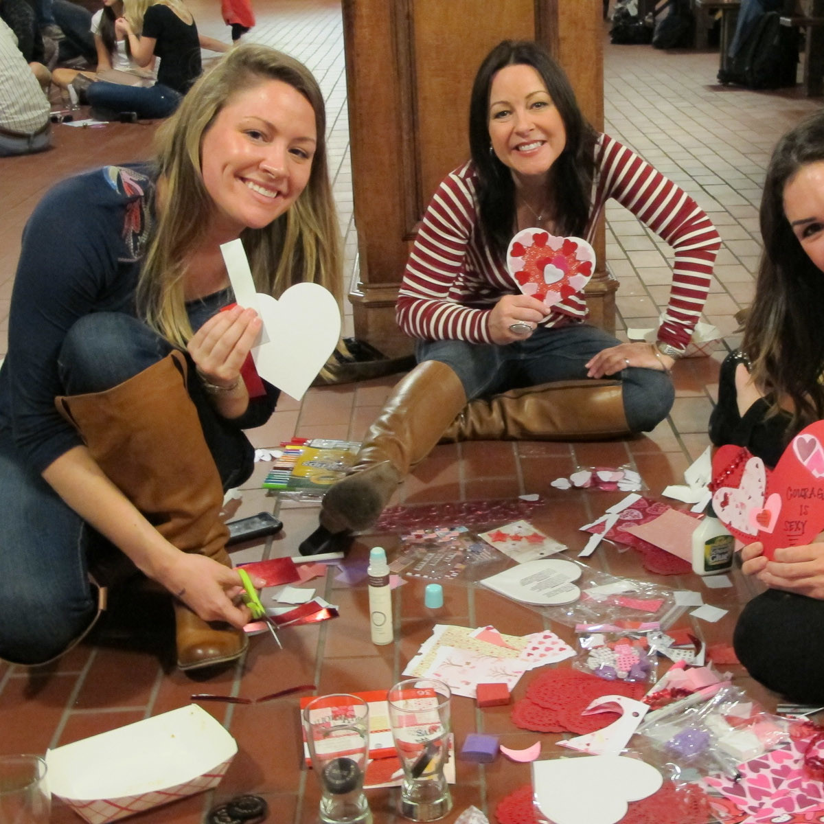 6, Ruthie, Valentines for Soldiers, January 2013