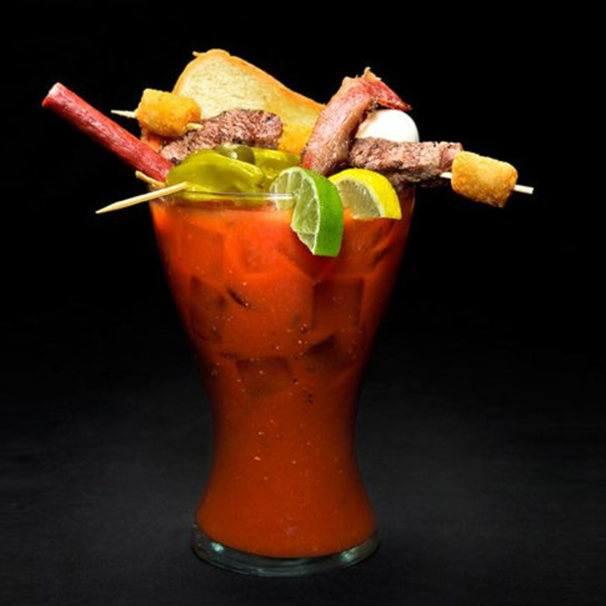 glass of Bloody Mary for Bloody Mary Fest