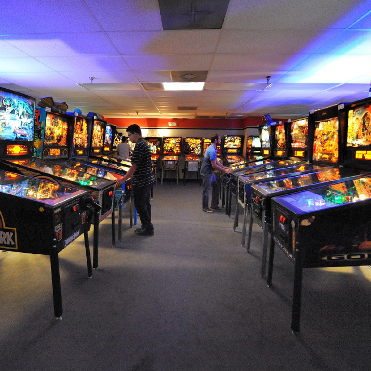 Pinballz Arcade offers a huge facility packed to the gills with games