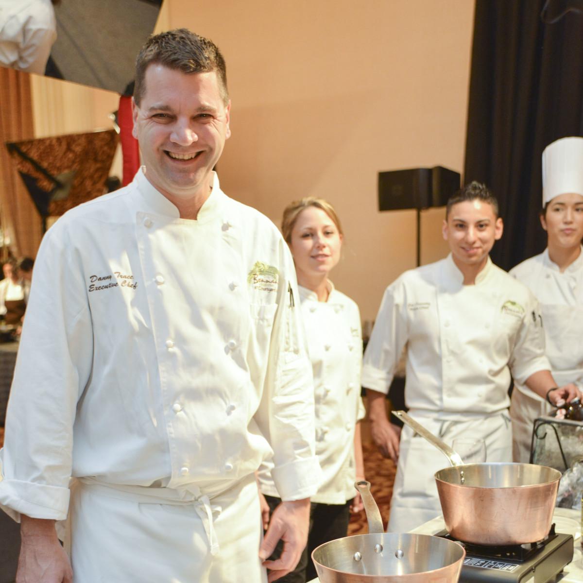 012, Bon Vivant Houston culinary event, January 2013, Danny Trace (Brennan's)