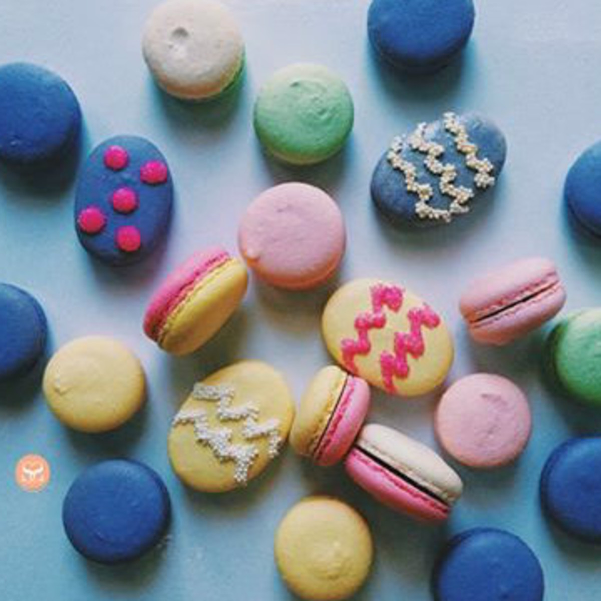 Sucre Sucre by Lucia Easter macarons