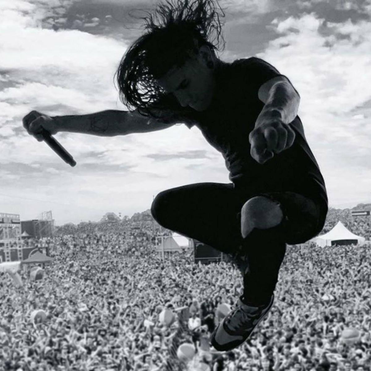 Skrillex musician Free Press Summer Fest FPSF February 2015