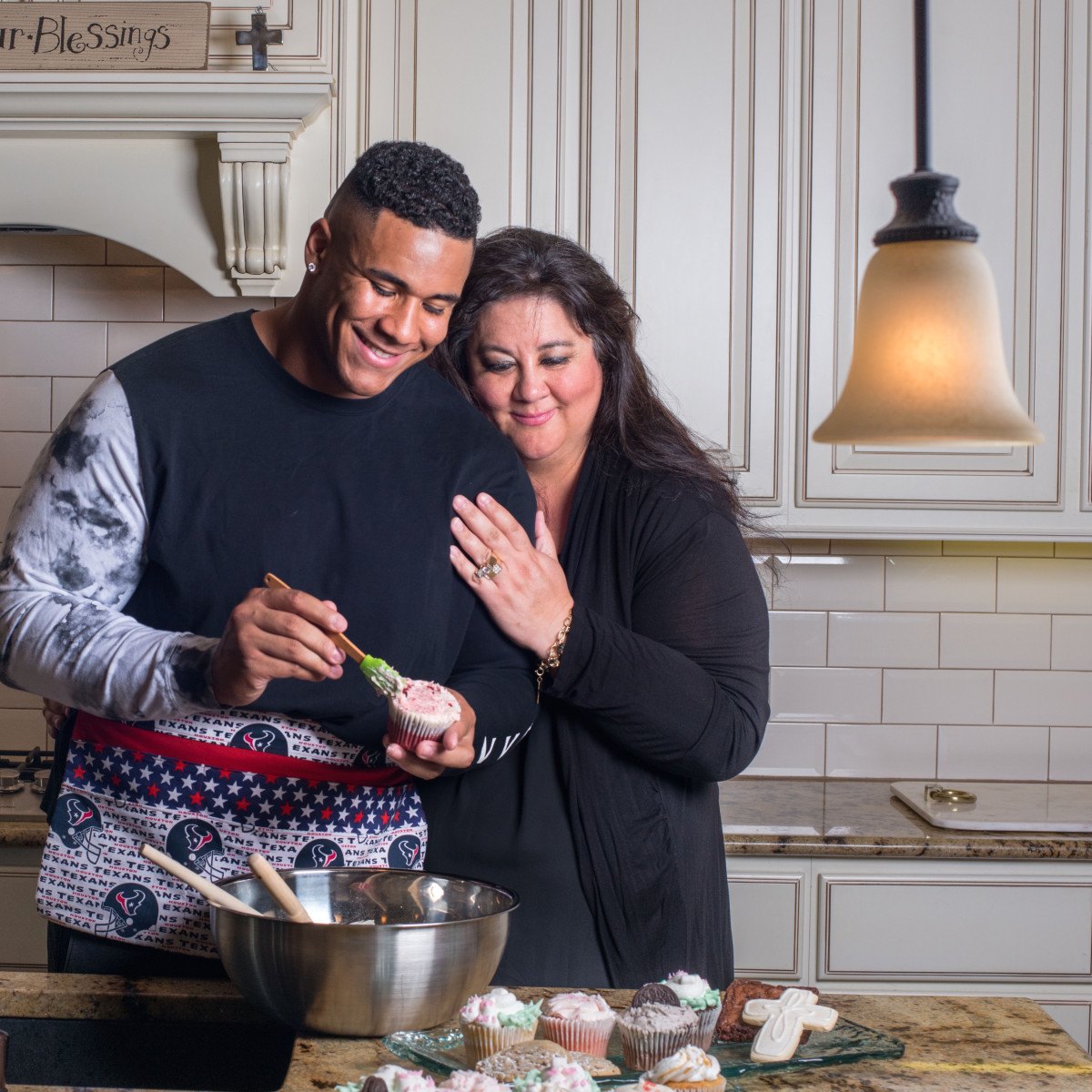 Christian Covington and mom, Natasha Covington