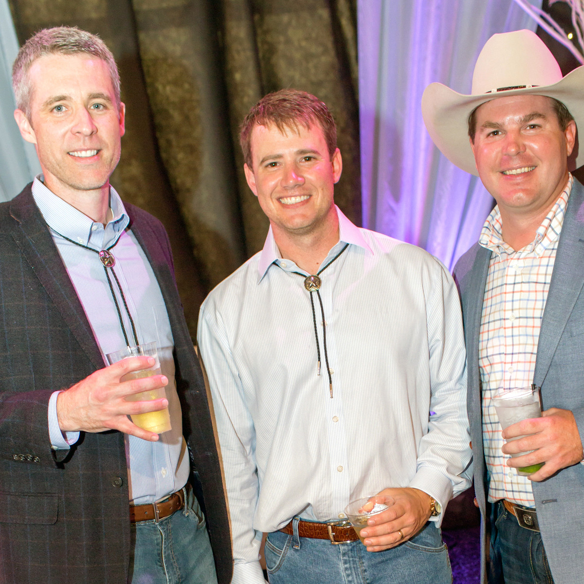 Houston, Cattle Barron's Ball 2017, May 2017, Matt Harbison, Austin Siler, Tim Riepe