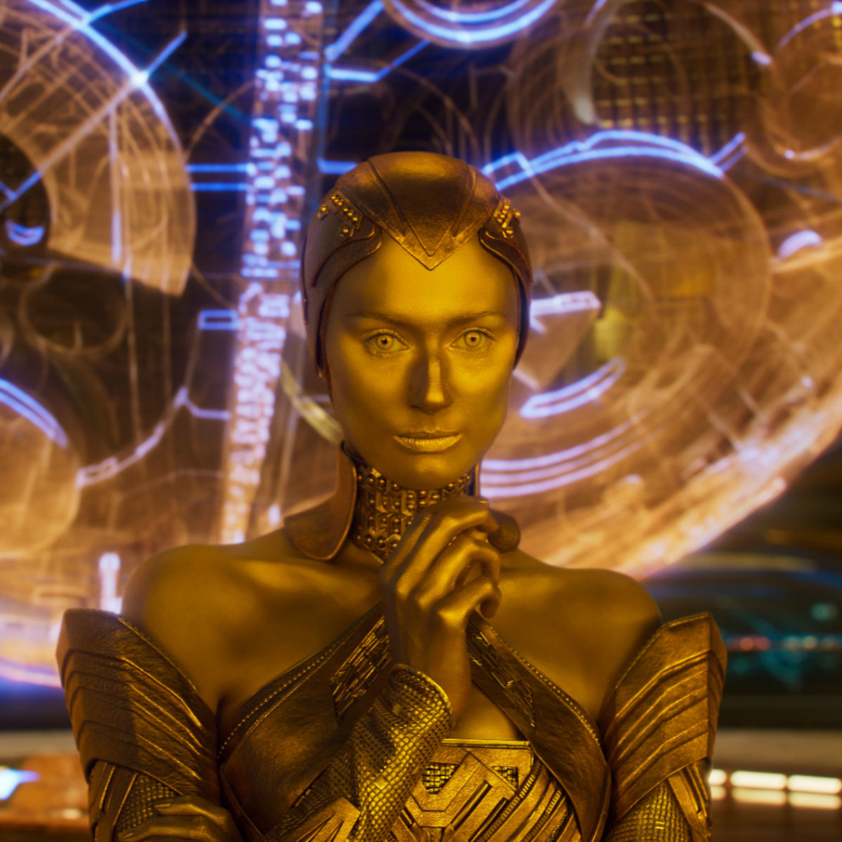 Elizabeth Debicki in Guardians of the Galaxy, Vol. 2