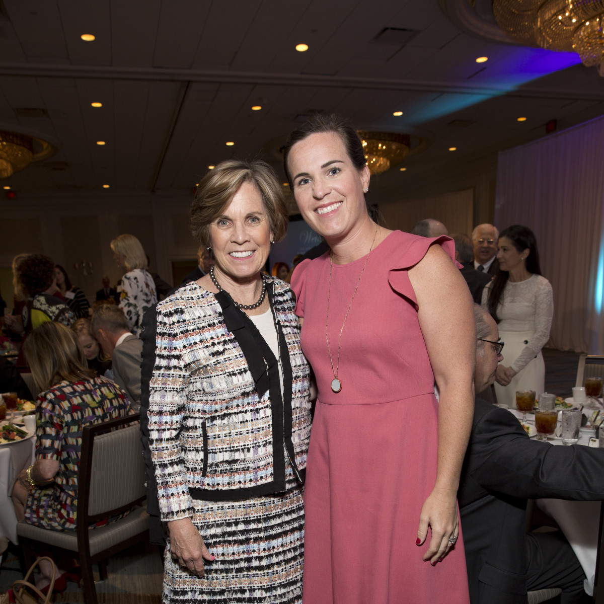 Maureen Hackett, Molly LaFauci at Menninger Clinic luncheon