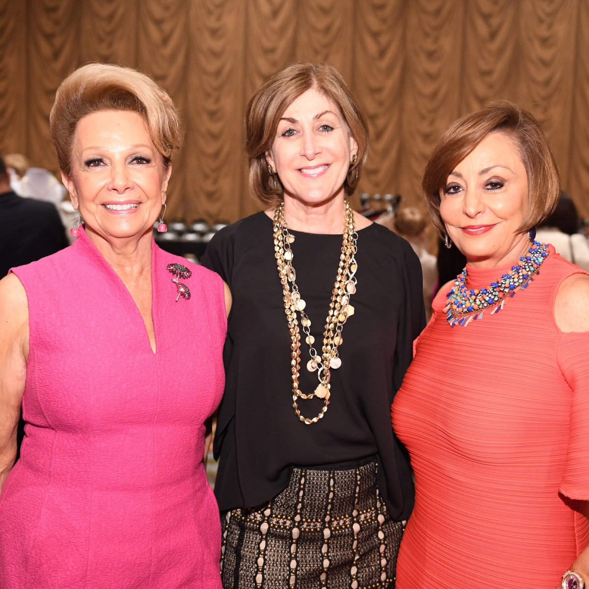 Latin Women Initiative Luncheon, Philamnea Baird, Karen Winston, Patricia Domingue