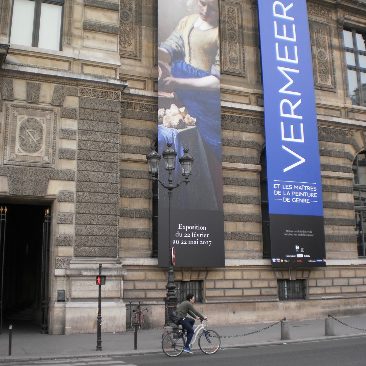 """Vermeer and the Masters of Genre Painting"" at the Louvre in Paris"