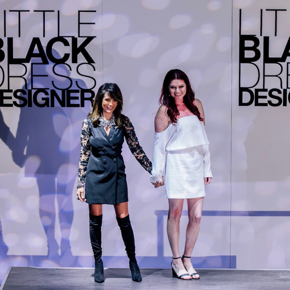 Diane Caplan, Blanca Vargas at Little Black Dress Designer 2017
