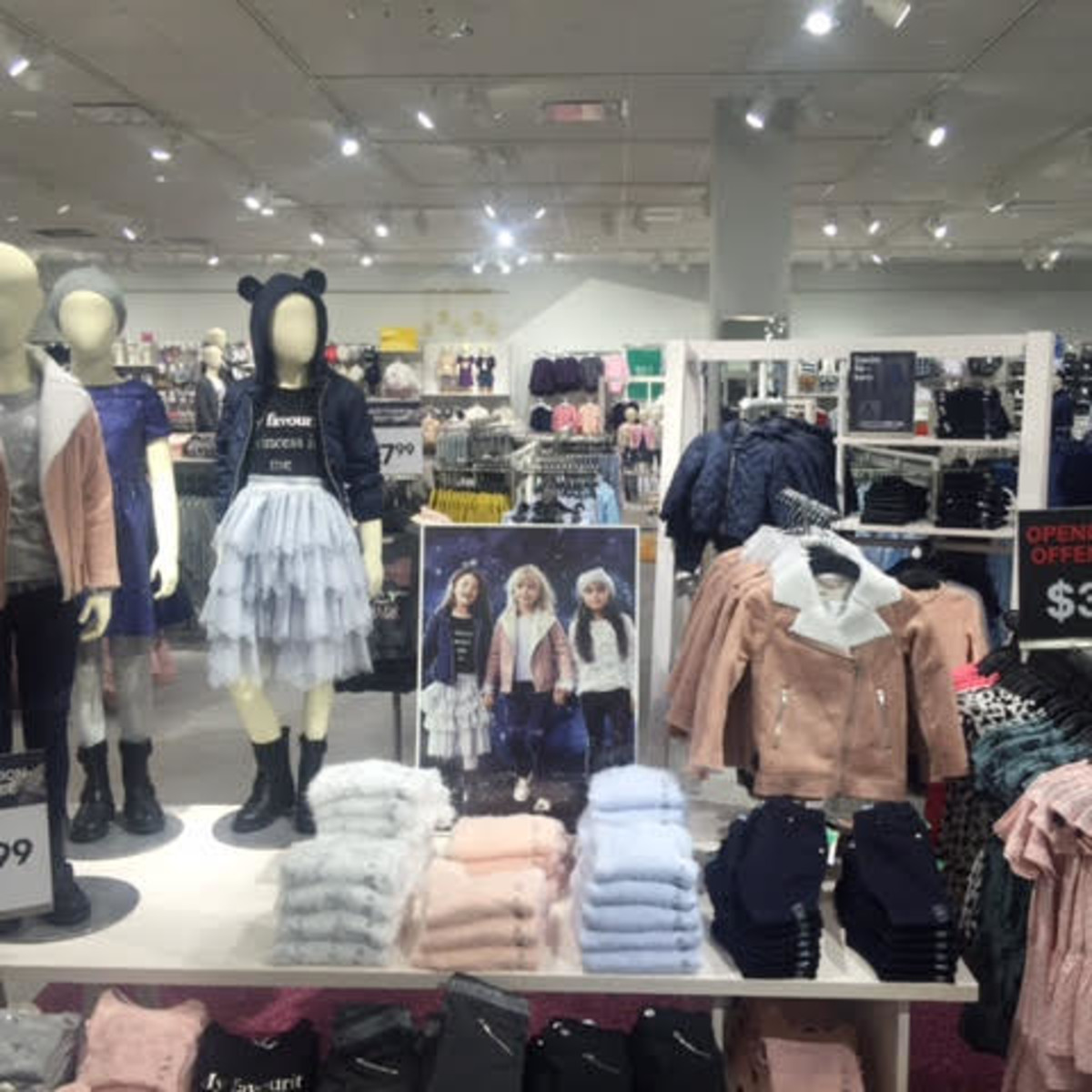 H&M Opening CITYCENTRE