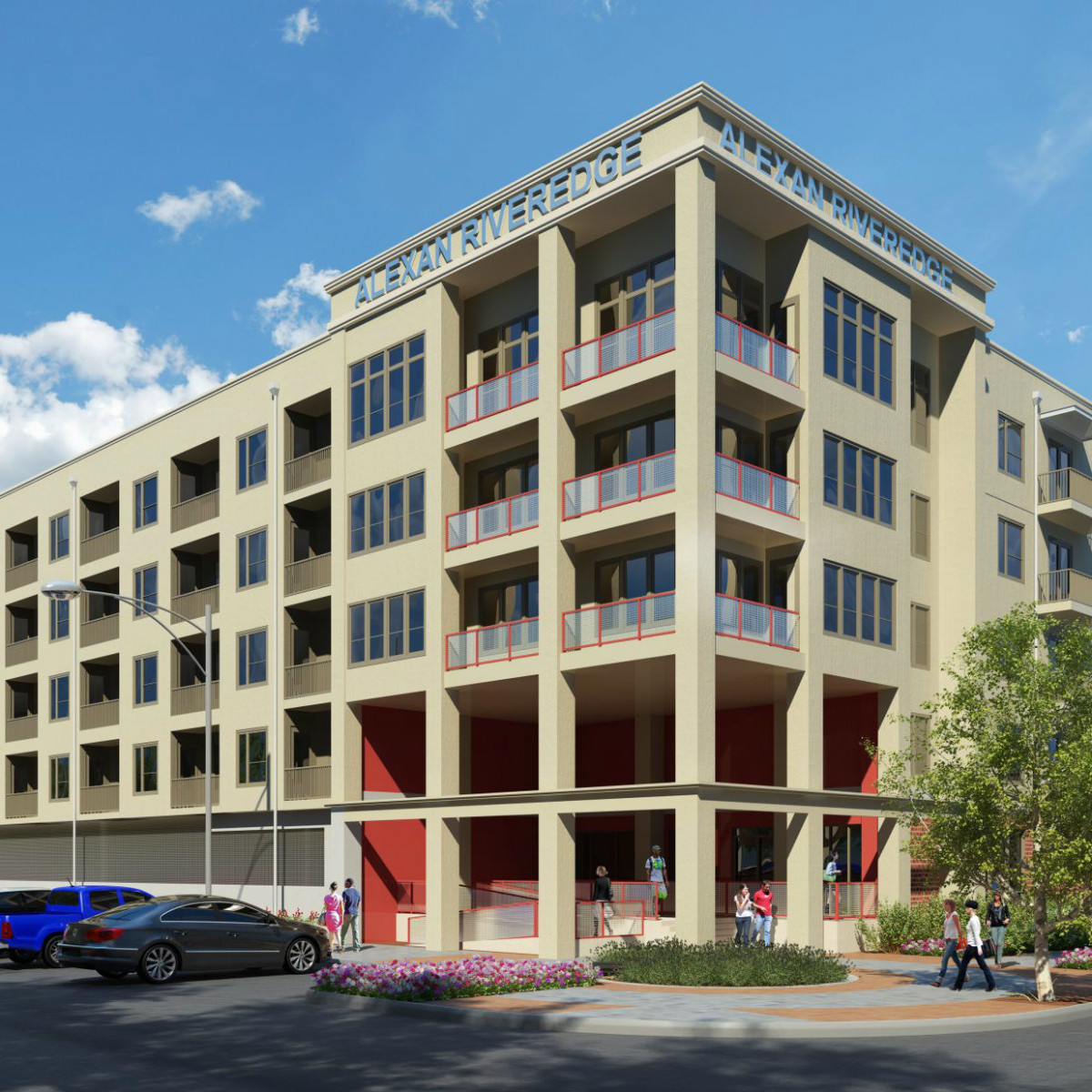 Alexan Riveredge Design District apartments