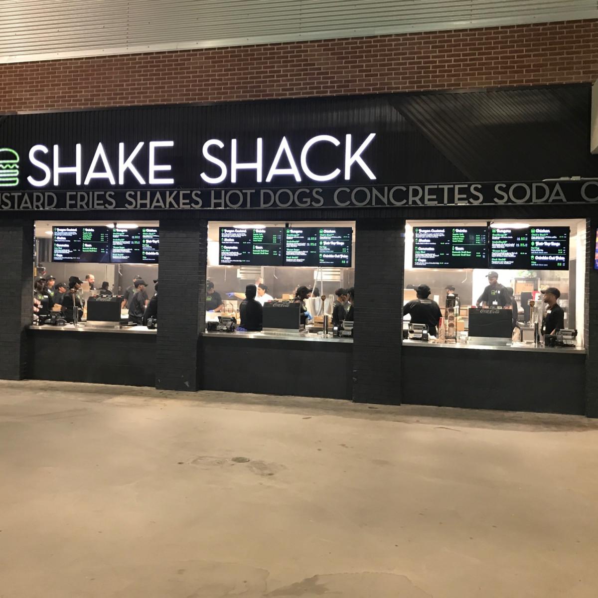 Astros Minute Maid park center field Shake Shack