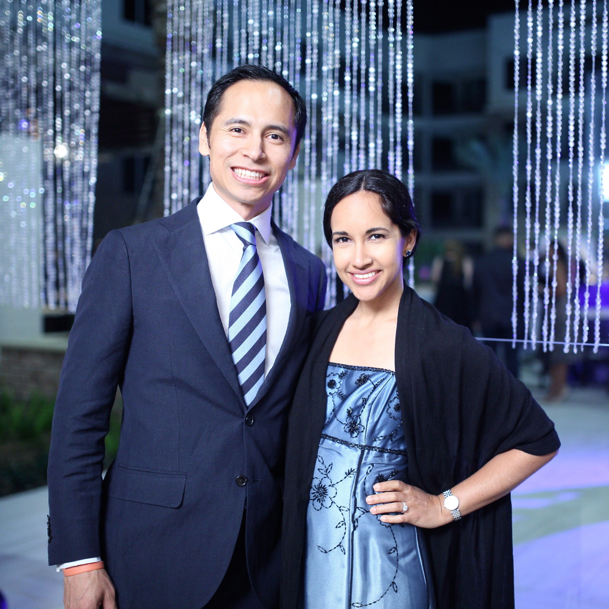 Houston, Big Brothers Big Sisters YP The Big Prom, Feb 2017, Geraldo Juarez, Yvonne Juarez