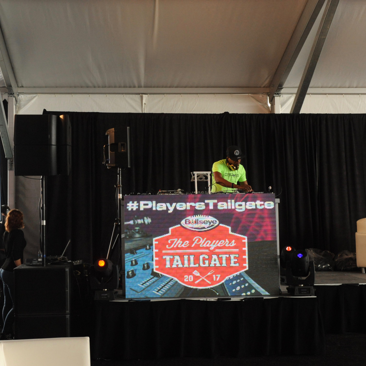 Players Tailgate DJ Irie