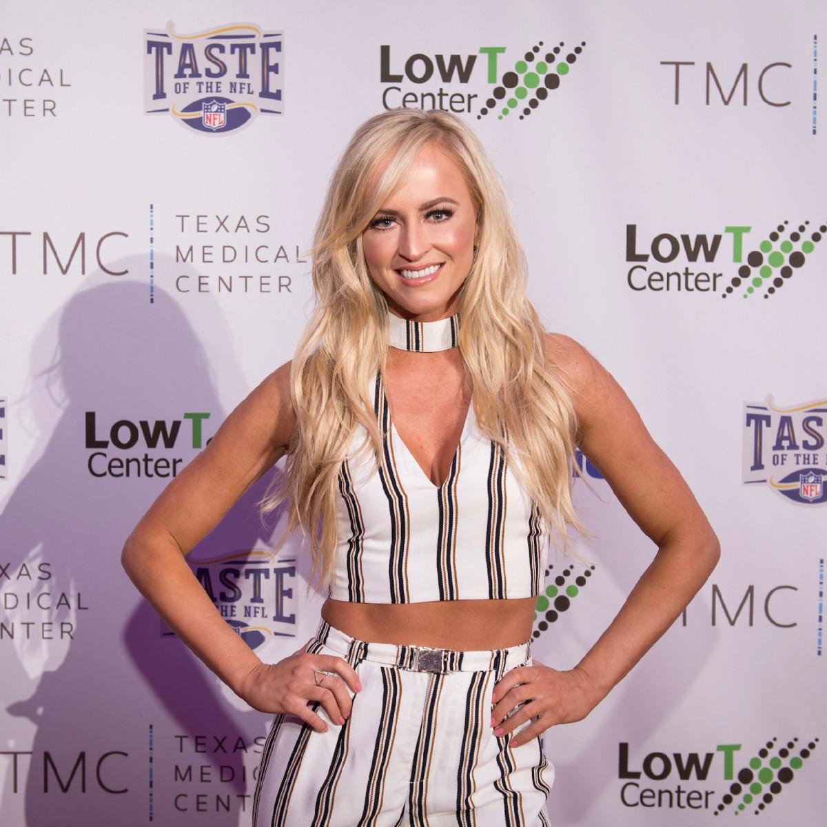 Taste of the NFL WWE Summer Rae Danielle Moinet