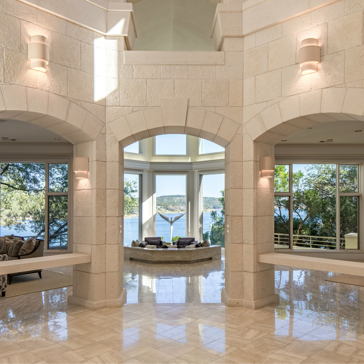26100 Countryside Austin house for sale foyer