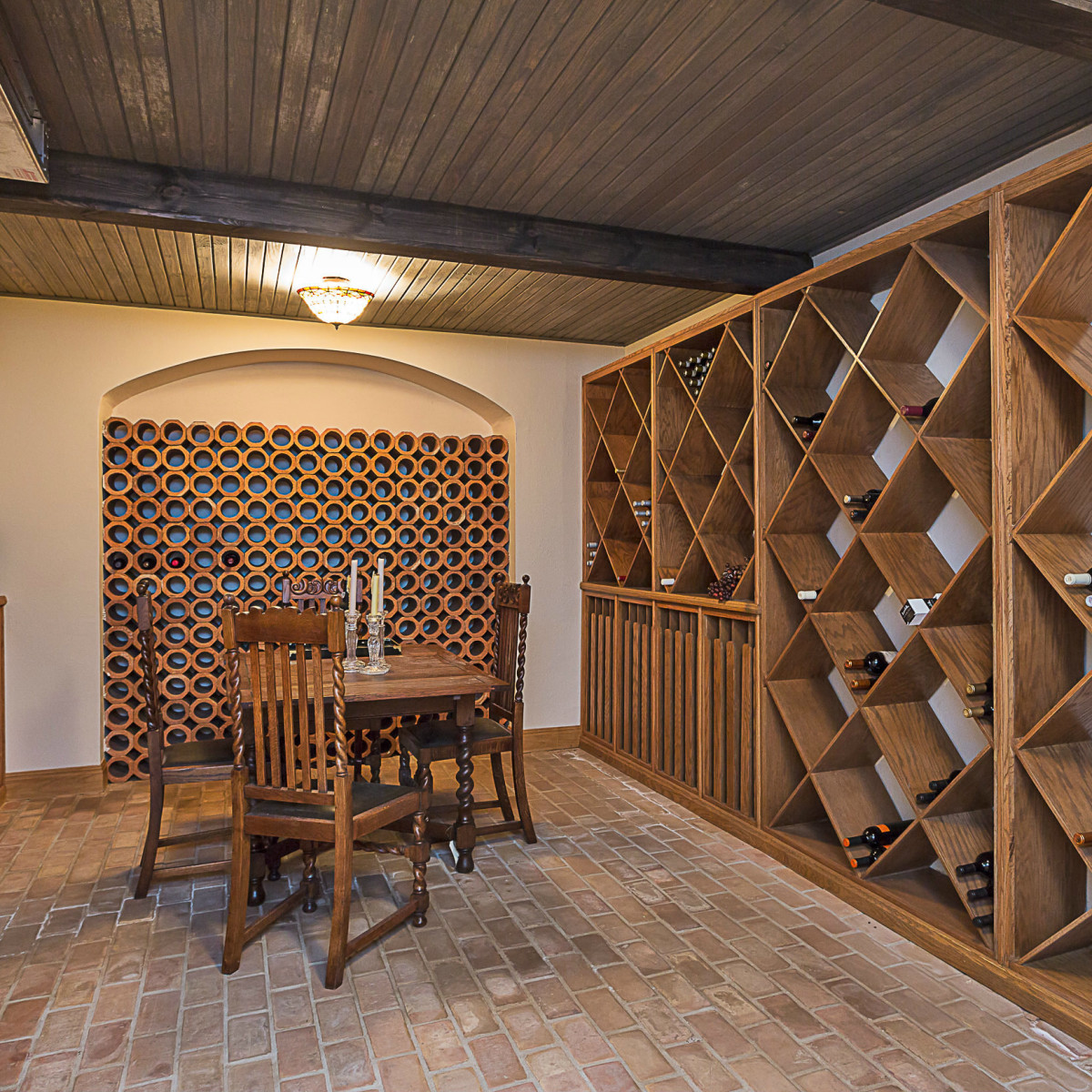 6603 Courtyard Austin house for sale wine room