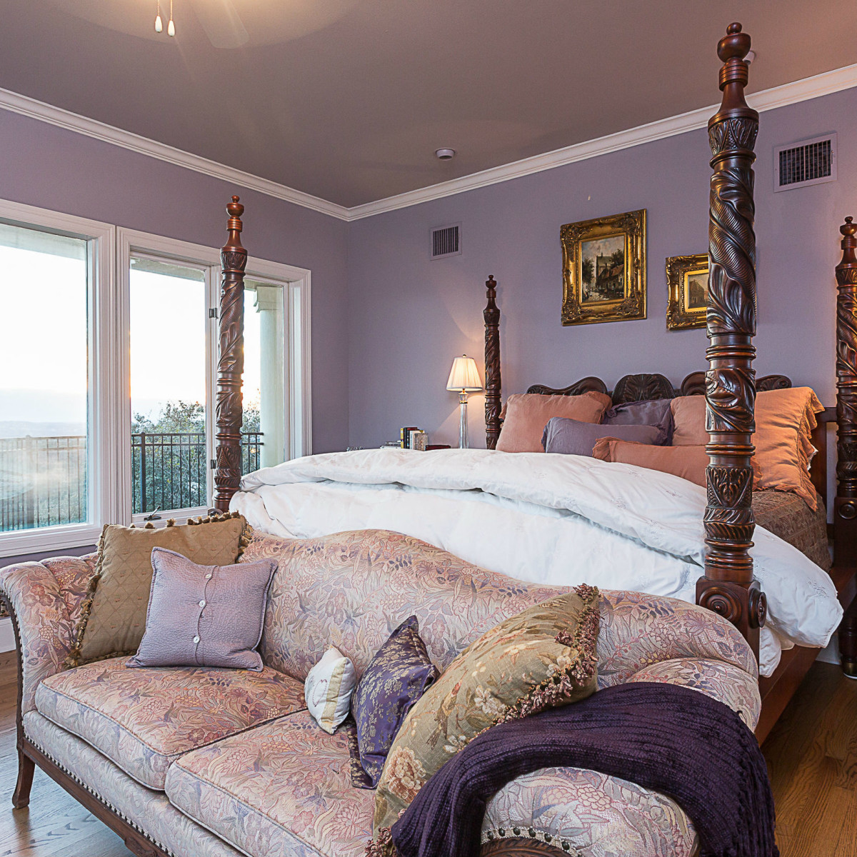 6603 Courtyard Austin house for sale bedroom