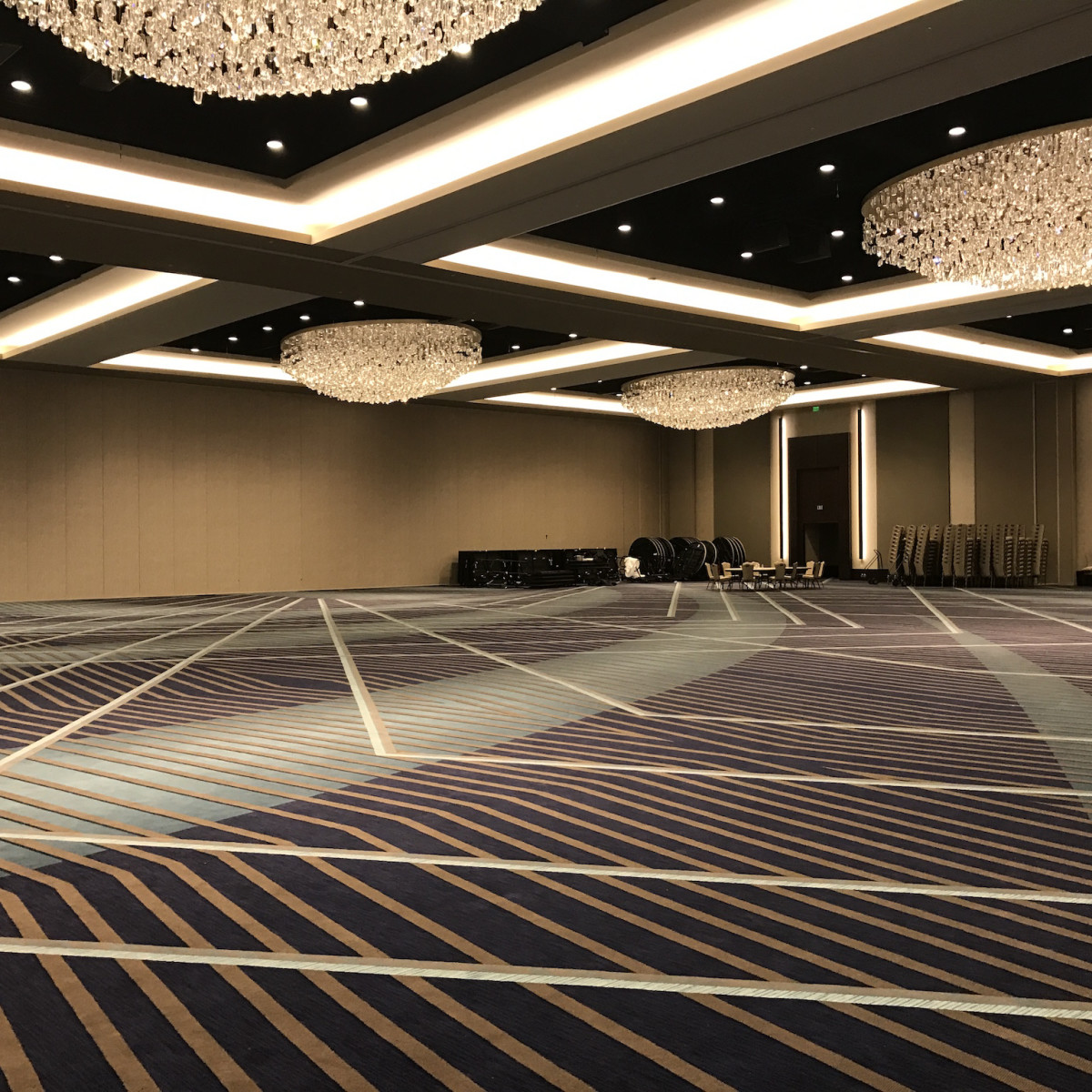 Marriott Marquis giant ballroom