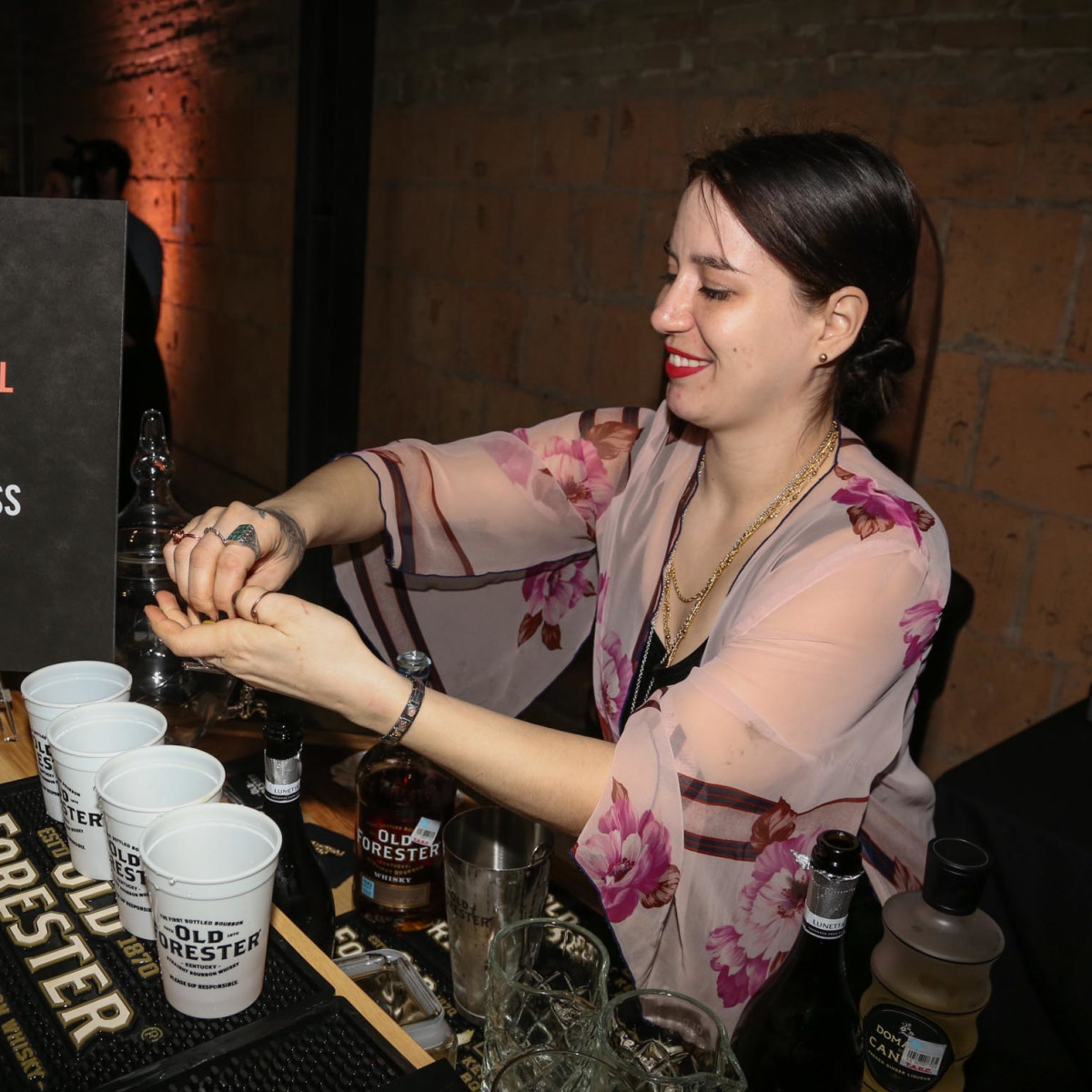 CultureMap Old Forester Bourbon Ball 2016 Aisling Gammill Whistler's