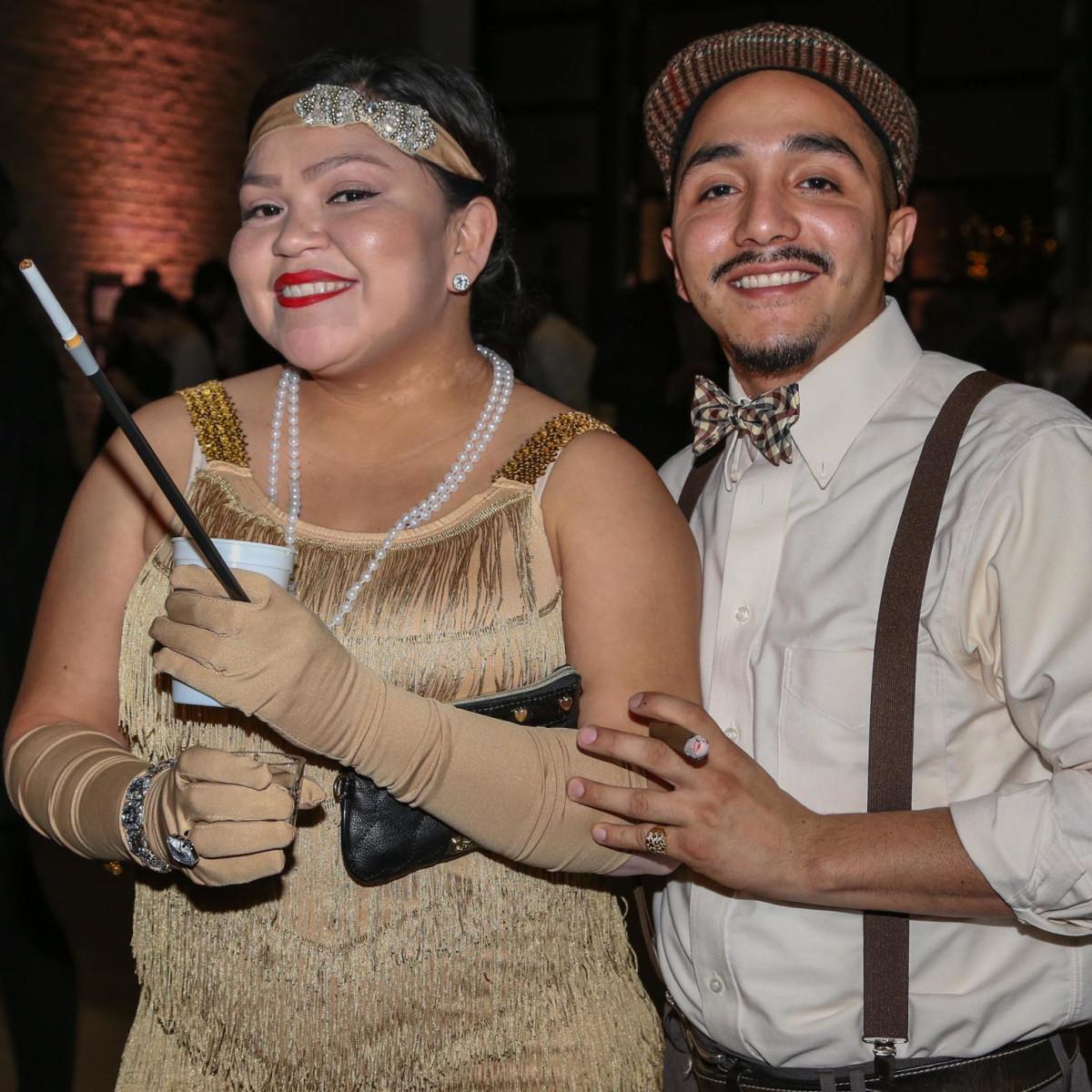 CultureMap Old Forester Bourbon Ball 2016 Mari Gomez Joe Siller