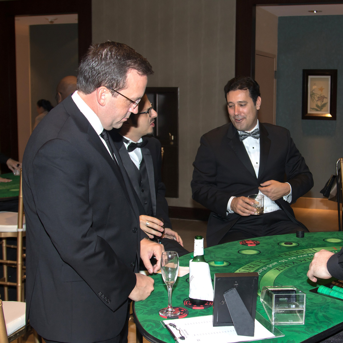 Casino games at Crystal Charity Ball 2016