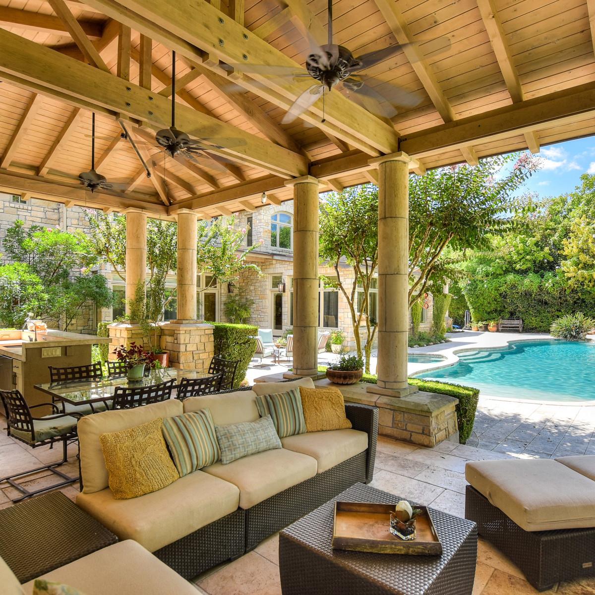 1430 Rockcliff Rd Austin house for sale cabana