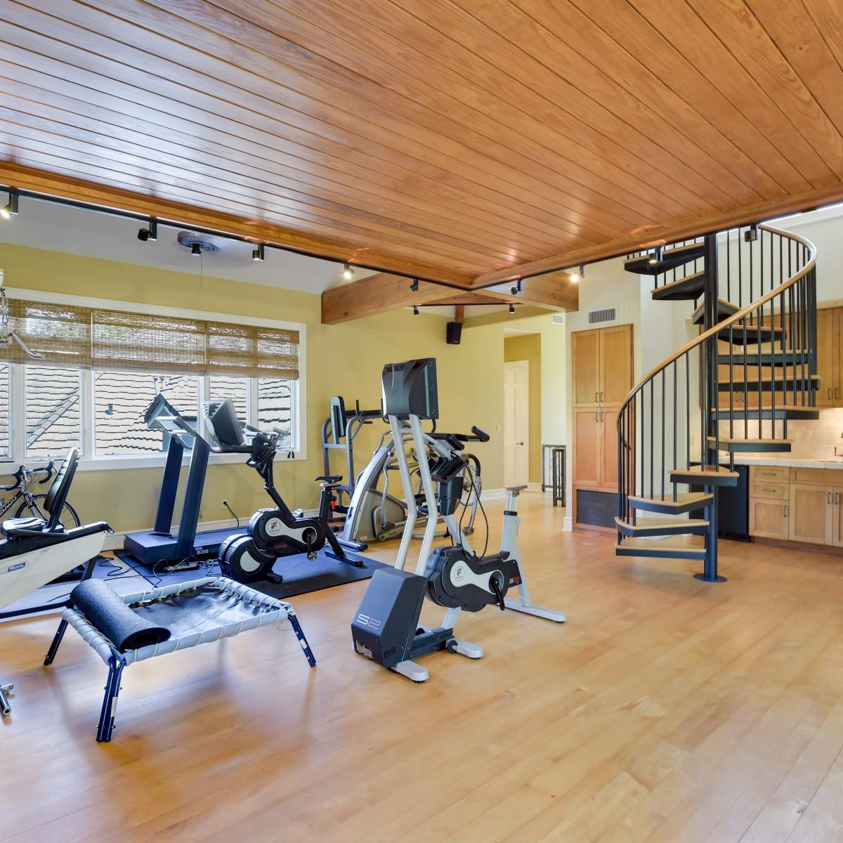 1430 Rockcliff Rd Austin house for sale gym