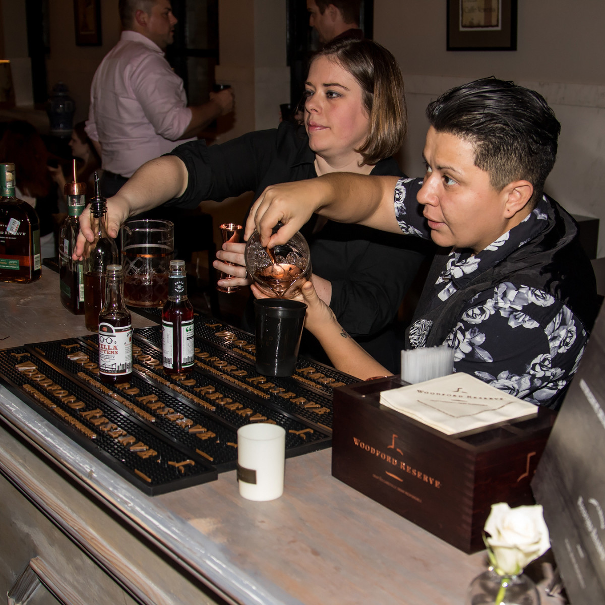 Fernanda Rossono, High & Tight bartender