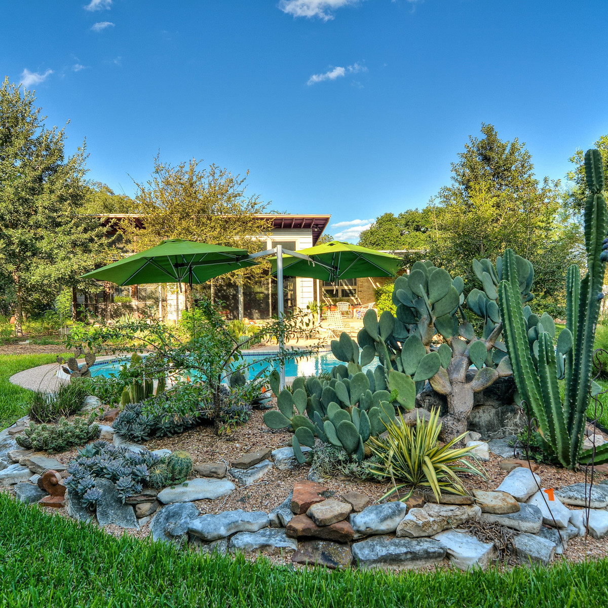 7519 Quail Run San Antonio house for sale backyard