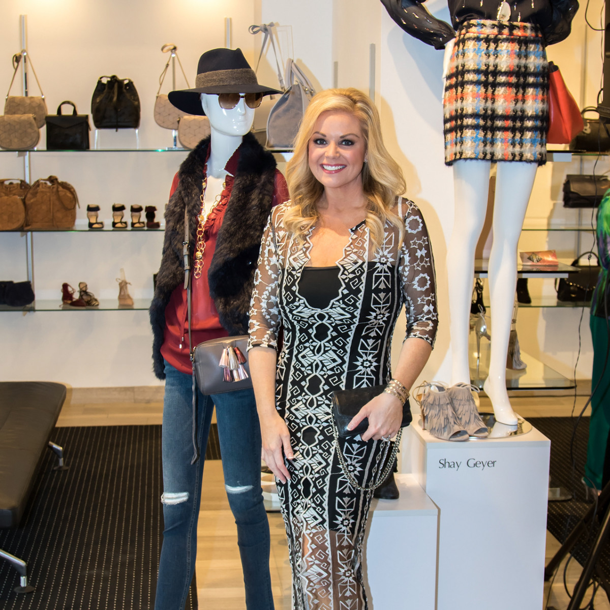 Shay Geyer, Dallas Stylemaker 2016 Reveal Party