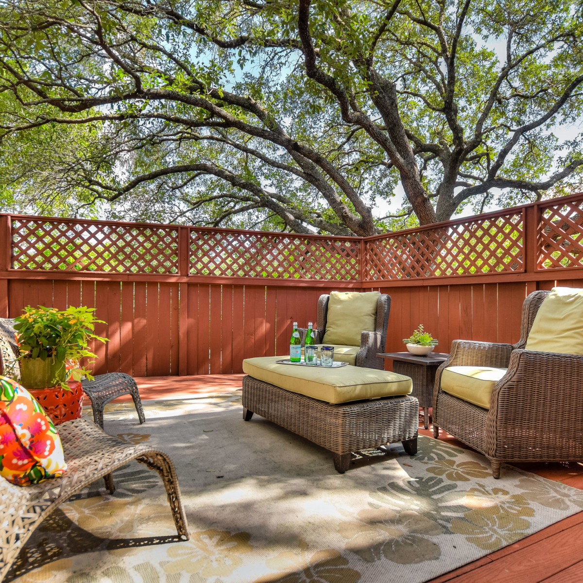 4407 Canyonside Austin home for sale patio