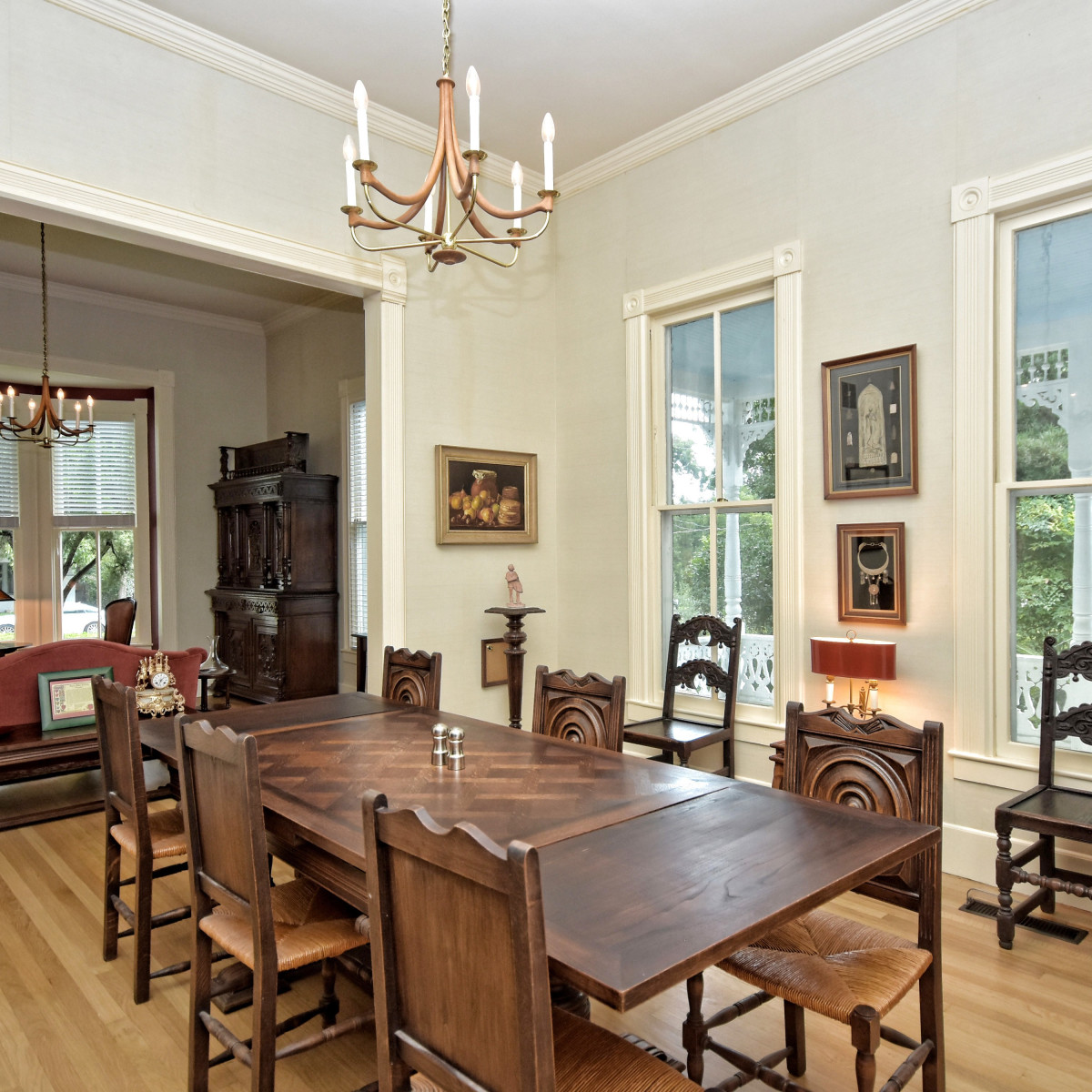 581 Coll New Braunfels house for sale dining room
