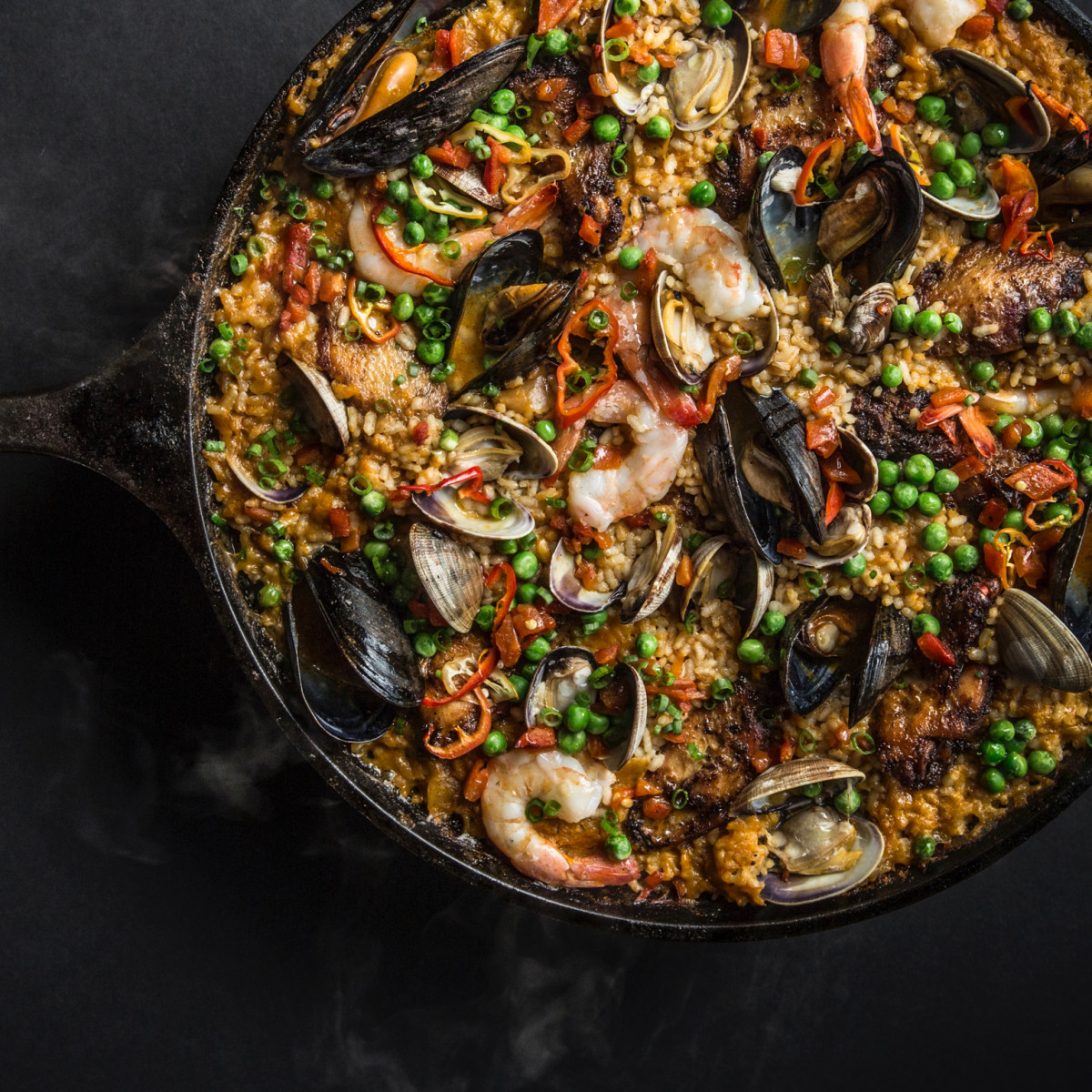 One Fifth Chris Shepherd paella