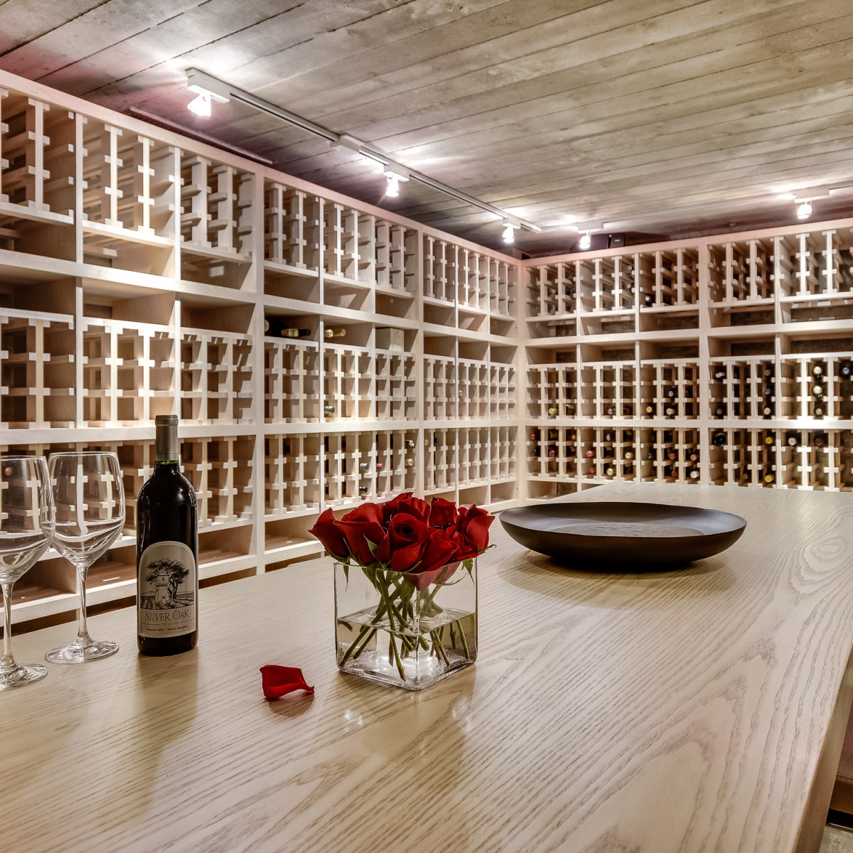 2009 Cueva de Oro Austin house for sale wine cellar