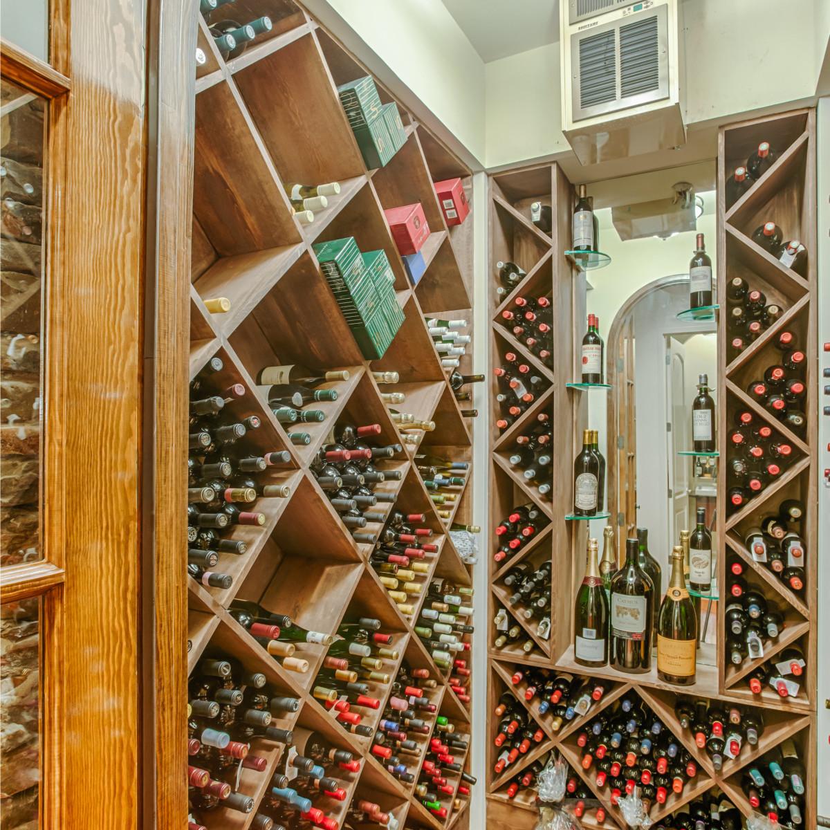 22334 Angostura San Antonio house for sale living room wine cellar