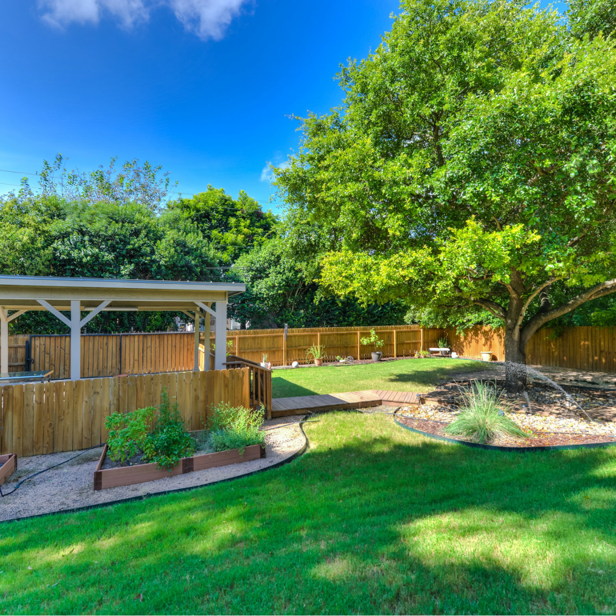 266 Claywell San Antonio house for sale backyard